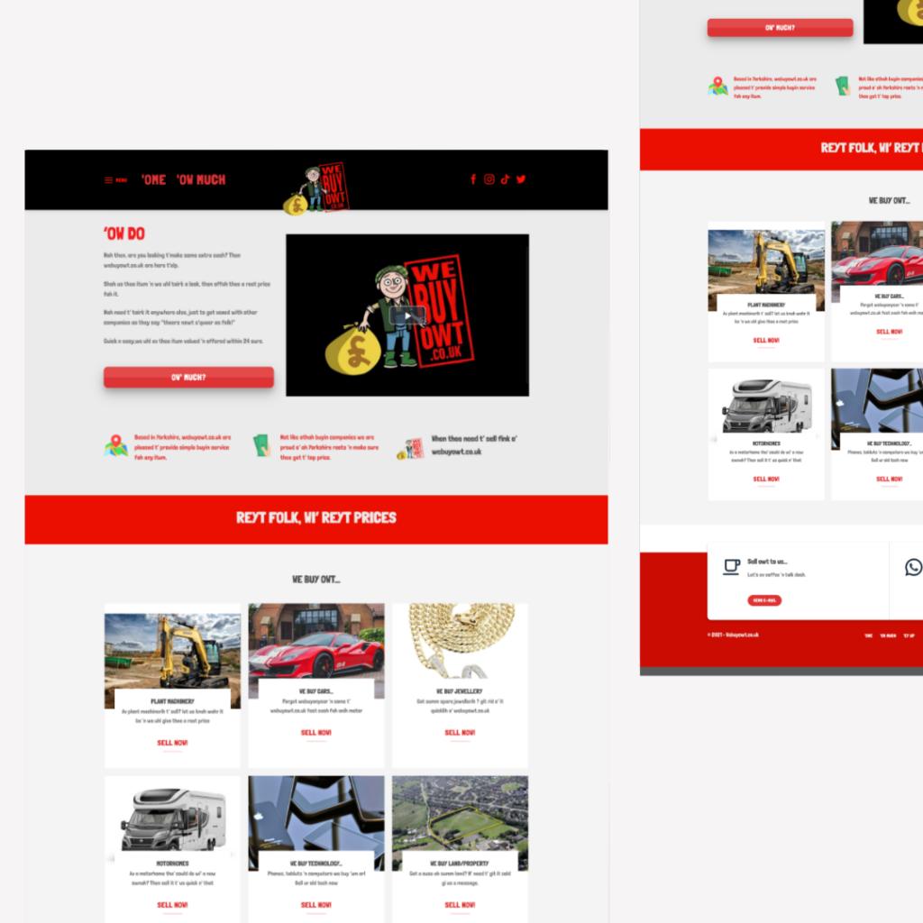 Website Design - West Yorkshire - Mooseo.co.uk